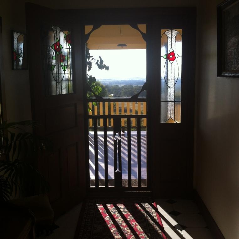 12 Sunset doorway _1965